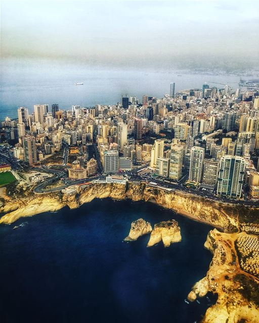 lebanon  beirut  sea  nature  sky  sunset  building  architecture  clouds... (Beirut, Lebanon)
