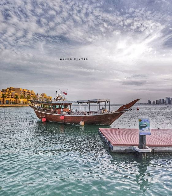 Freedom is nothing but a chance to be better. *  Albert Camus *... (Doha)