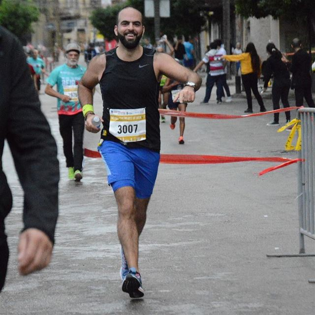 """If you train your mind for running, everything else will be easy"" Amby... (Beirut, Lebanon)"
