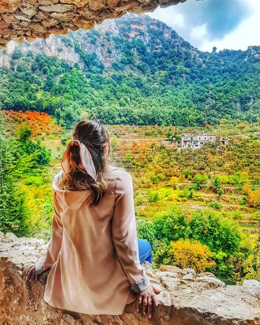 Sitting on a 4th century frame, with a spectacular autumn view and a... (Mar Antonios-Kozhaya)