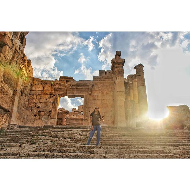 Good morning Lebanon! livelovelebanon  livelovebaalbeck  lebanonadventure... (Baalbek, Lebanon)