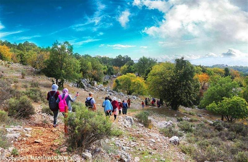 Hike more, Worry Less ..  JabalMoussa @mashawer.group  unescomab  unesco ... (Jabal Moussa Biosphere Reserve)