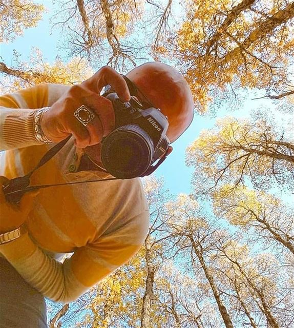 ....but first let me take a selfie 🍁🍁🍁 ............ Letitgo... (Al Fnaydiq, Liban-Nord, Lebanon)