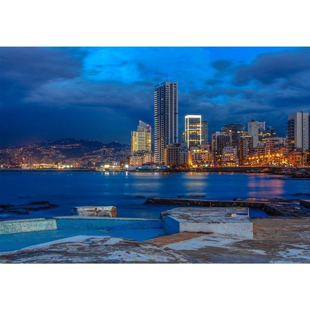 Been shooting this area for many times and every time i take a shot i feel... (Beirut, Lebanon)
