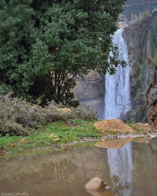 شلال جزين والمطر... 👌 ...... lebanon  photography ... (Jezzine District)