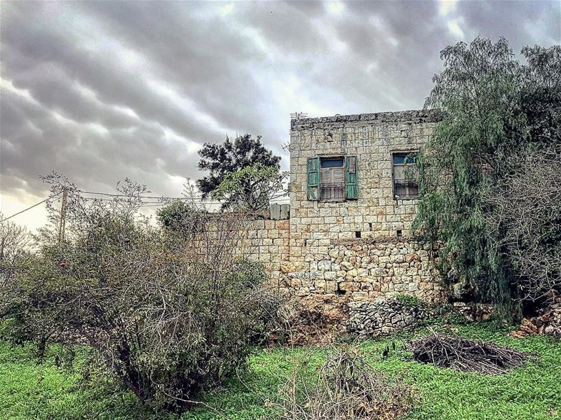 If you carry your Childhood with You, You NEVER become Older 🏡..... (Btoûrâtîj, Liban-Nord, Lebanon)
