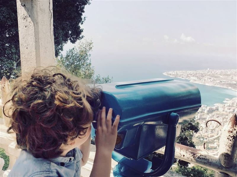 Show me the world ❤  nephew  childhood  curiosity  livelovelebanon ...