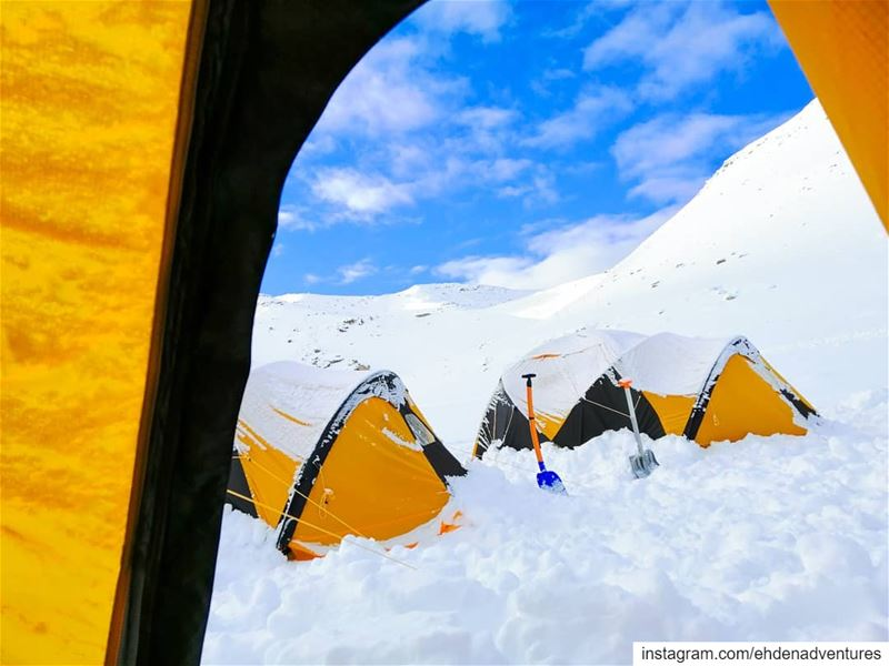 ehden  lebanon  thenorthface  mikesportleb  adventure  snow  snowcamp ... (Lebanon)