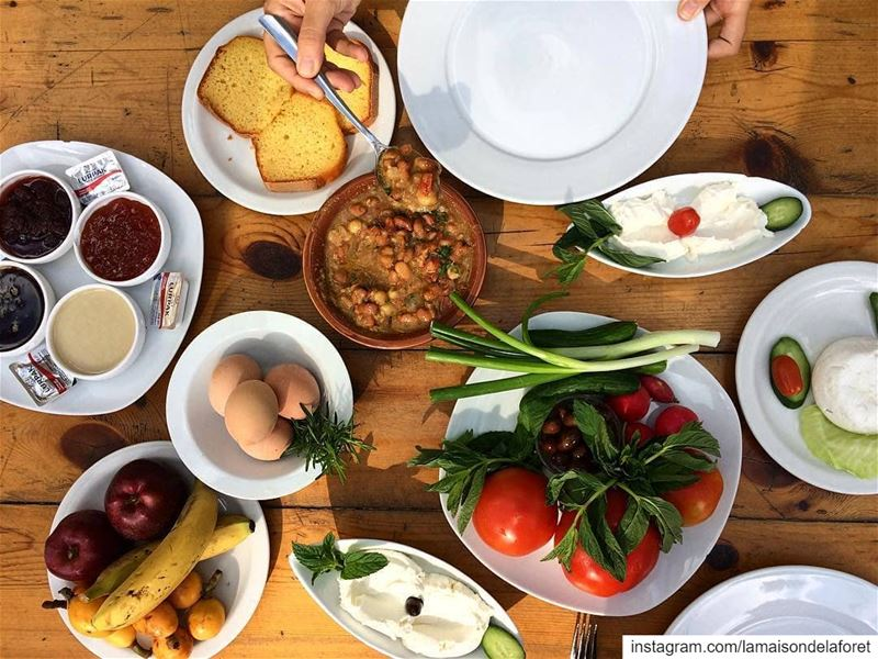 An irresistible traditional  LebaneseBreakfast is the perfect way to...