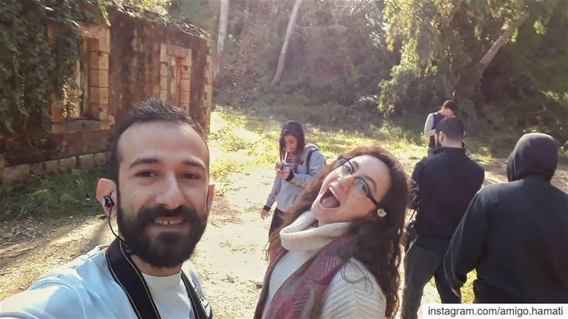 Small trip with the team .@lebaneseurbex ... uglybeirut بيروت_مش_بشعة (Mount Lebanon Governorate)