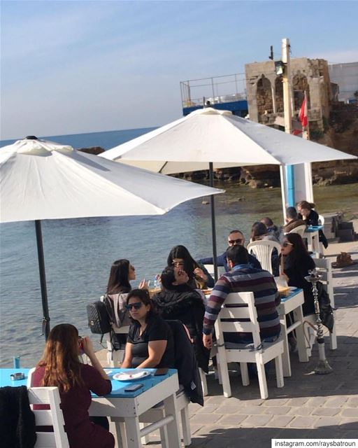 Sunday at RAY's 😍 lebanon  batroun  beach  bahsa  restaurant ... (RAY's Batroun)
