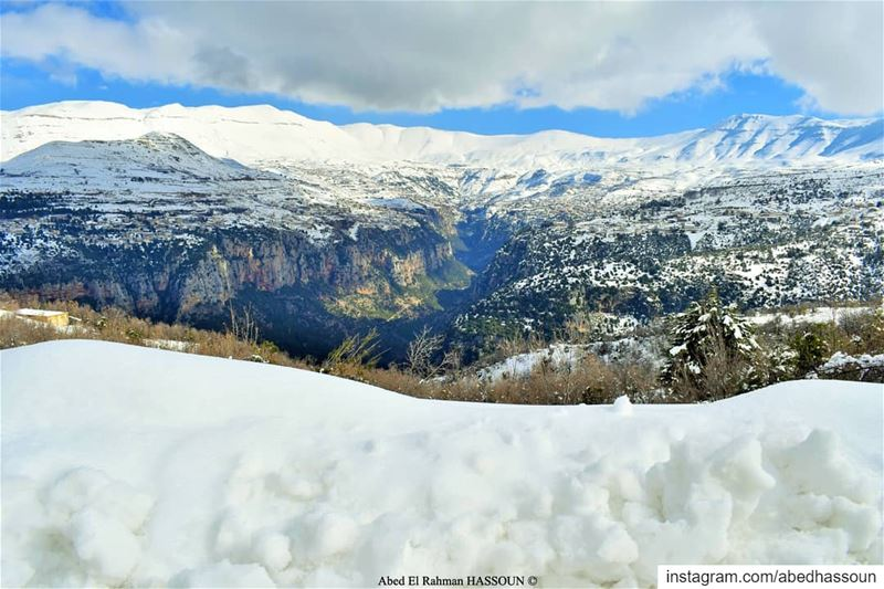 Good morning dears ❄❄❄.............. LiveLoveBcharri  بشري ... (Bcharri, Liban-Nord, Lebanon)