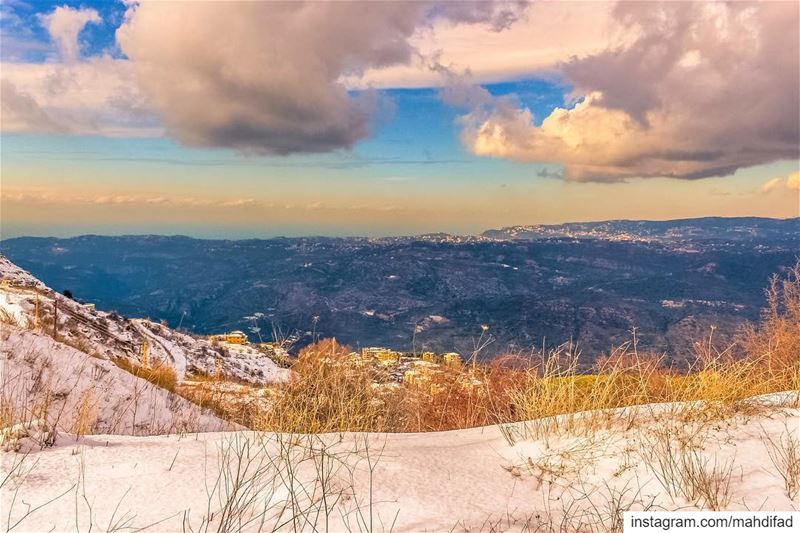 ❄️❄️......... Sawfar Snow Mountains Lebanon pysglb Nature... (Mount Lebanon Governorate)
