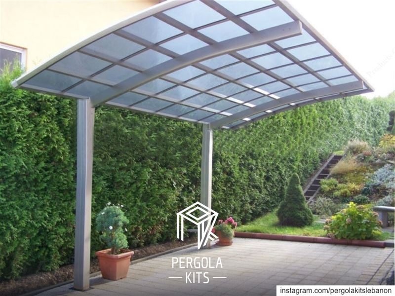 "Protect your Car & Design your Outdoor at Once with ""Carport"" from Pergola..."