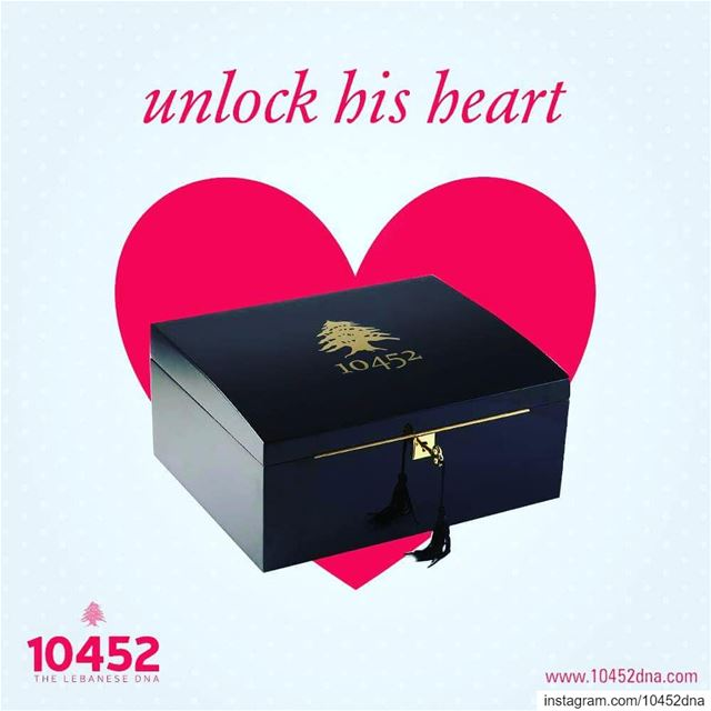 Unlock his  heart with this  beautiful and  classy  10452DNA  humidor ... (Beirut, Lebanon)