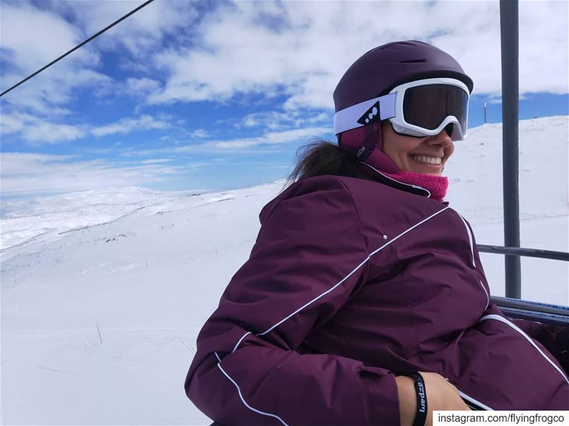 Learn skiing with a smile.Book your session now+961 76 495 495...... (Mzaar Ski Resort)