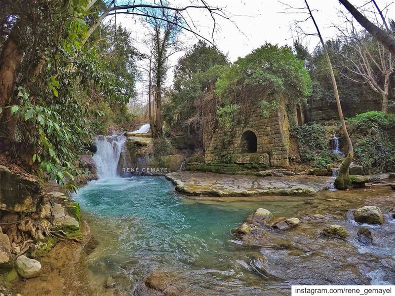 Water is the drink of nature.... LebanonTimes  ig_lebanon ... (Chouf)