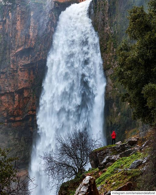 DidYouKnow that the Jezzine Waterfall is one of the tallest in the world?...