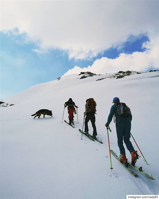 what's behind that hill?... backcountryskiing skitouring lebanon...