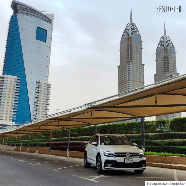 New Volkswagen Tiguan R-line sport... For full video review check my... (The Palm - Jumeirah)