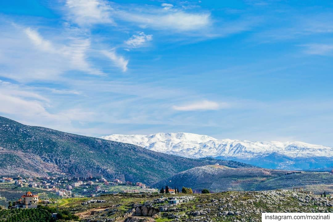 Going to the mountains is going home ❤ ================================ ... (Deir Al Zehrane)