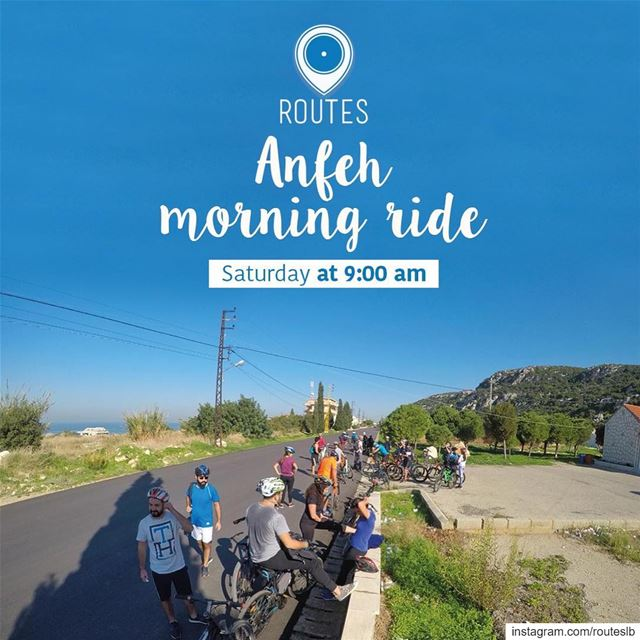 Boost up your day with a morning ride through the City of Batroun and all... (Anfeh Al-Koura أنفه الكورة)