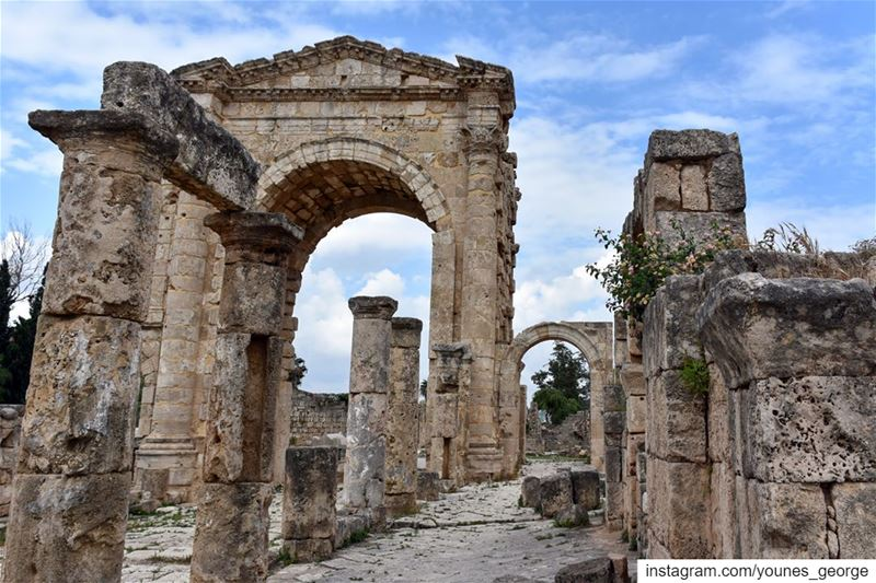 Spring at the Forum of Sour (Tyre)See more of my pictures at: https://geo
