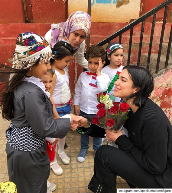 @dualipa visiting Lebanon with @unicef we applaud this initiative and...