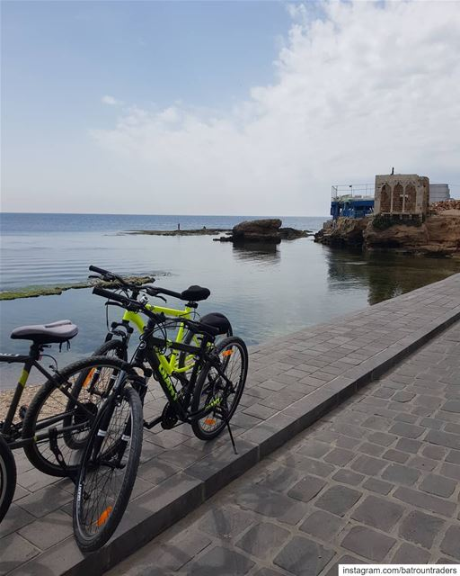 batroun  البترون_سفرة  bahsa  beach  batrounbeach   batrouncoast  bicycle... (Batroûn)
