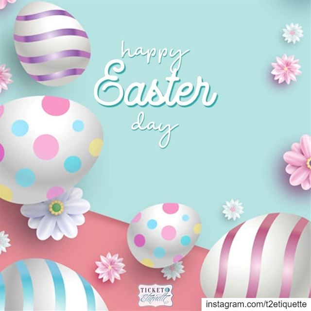 Wishing you and all your loved ones a very  HappyEaster! 🐣 .......... (Lebanon)