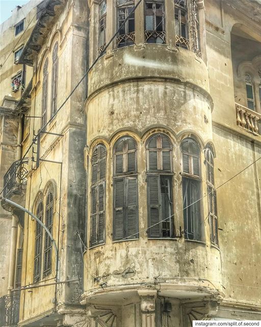 Beauty of old Lebanese architecture ... lebanon  beirut  architecture ...