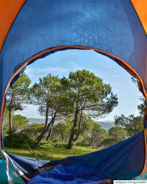 Where I'd rather be on a Monday..... campinglife  natgeotravel ... (Lebanon)