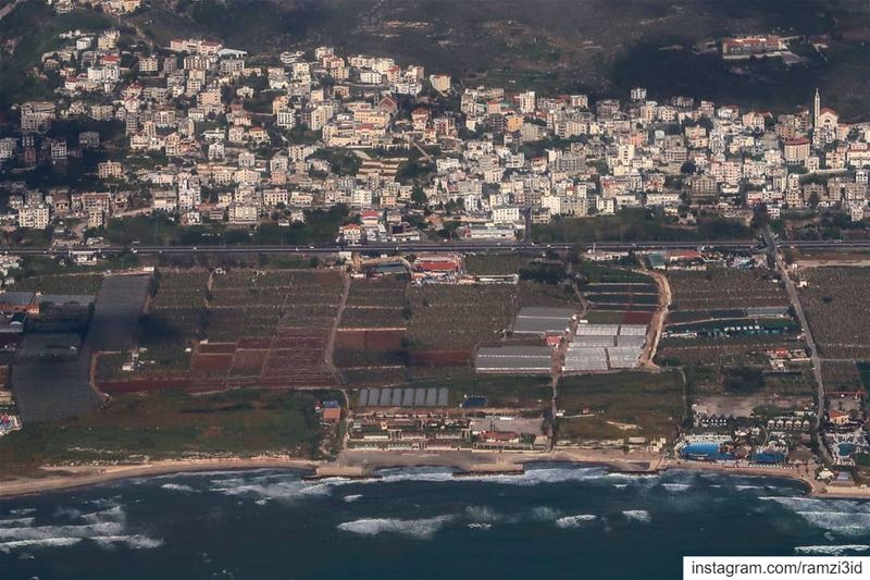 Aerial view of my lovely village  livelovedamour  lebanonspotlight ...