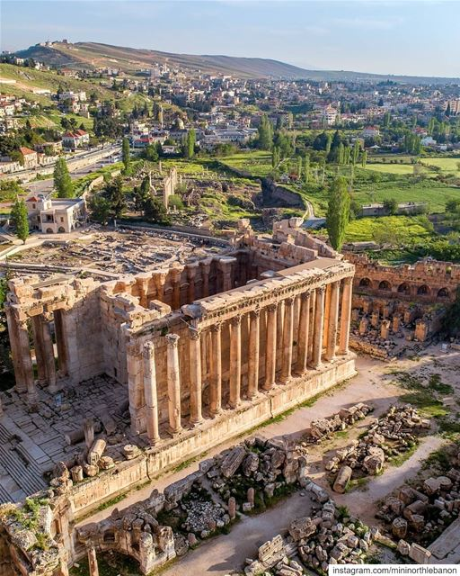 @rami_rizk89 ❤️😎👍The splendor of this city had me speechless! It's a... (Baalbek , Roman Temple , Lebanon)