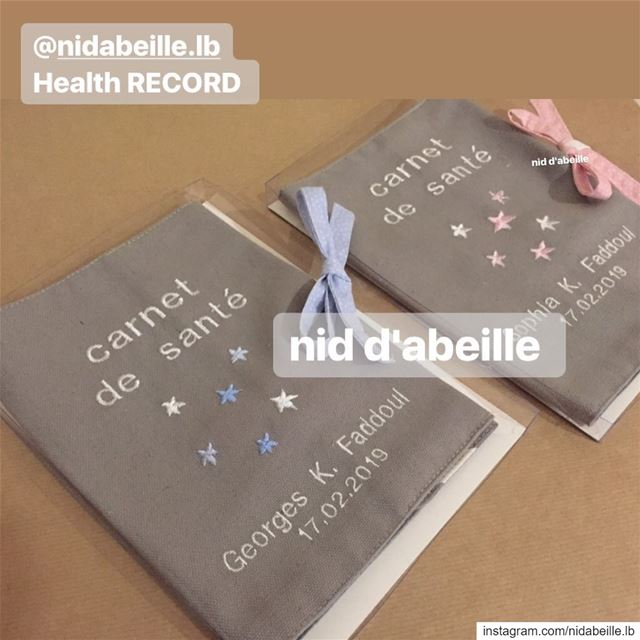 I love my health record 💙💜 Write it on fabric by nid d'abeille  home ...