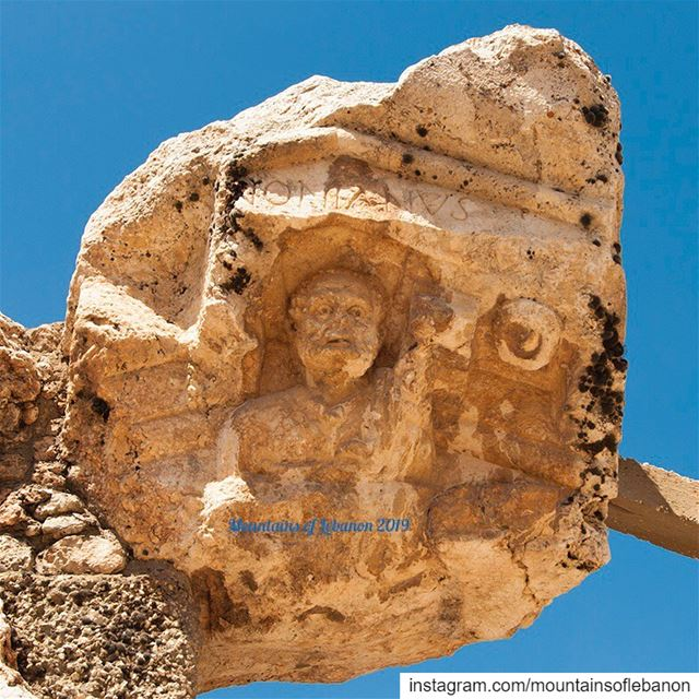 Meet Antonianus (1st Century A.D.) the prominent town figure to have his... (Qsarnaba, Béqaa, Lebanon)