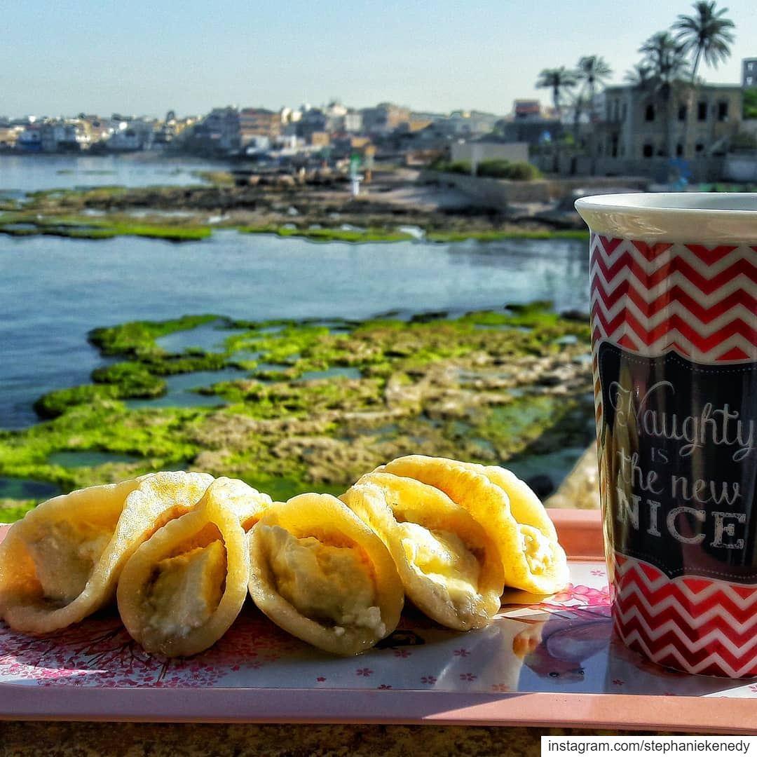 Atayef, the ultimate arabic pancake 😋   Good Morning