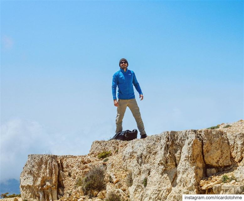 Summit reached 🏔 📷: @elias.ac ...... Mountains  hiking  Lebanon ... (Akkar)
