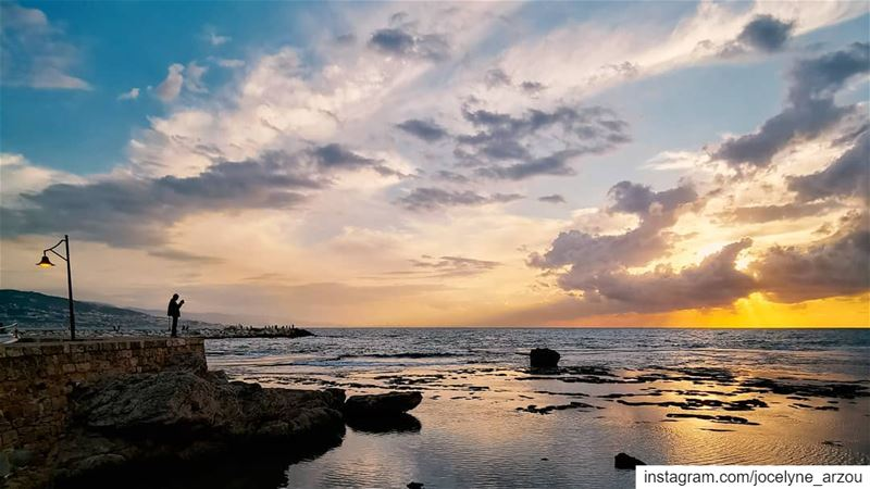 Let nothing dim the light...... light  sunset  besttime  todream  love... (Byblos, Lebanon)