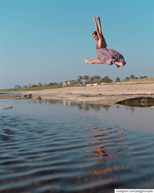 ~ Why Swim When You Can Fly 3/3 ~... ballet  balletpost  ballerina ... (Tyre, Lebanon)