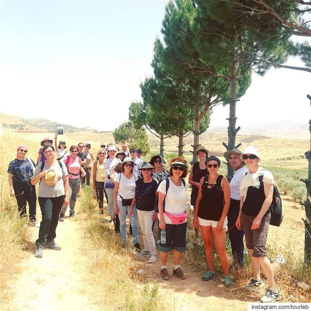 A nice walk on the @lebanontrail with @universite.pour.tous and  tourleb... (Kfarmechkî, Béqaa, Lebanon)