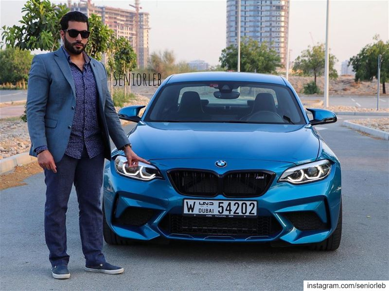 Hope everyone will have a good Eid Holiday. I'm in love with the BMW M2... (Dubai, United Arab Emirates)