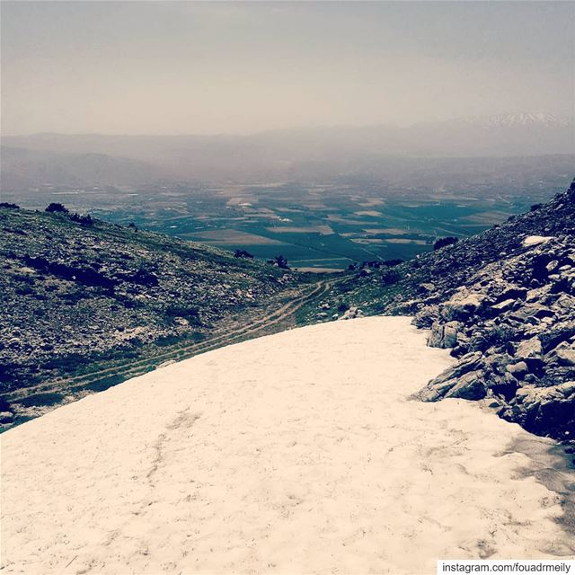 hiking👣  hikers  mountainhigh  snowrunning  snowsummit ... (Lebanon)