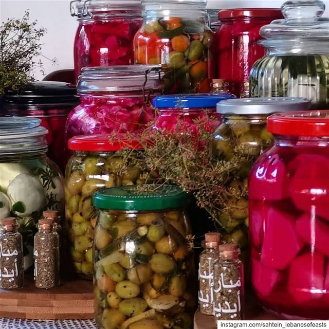 Whether it be  pickling, marinating, conserving, or preserving these...