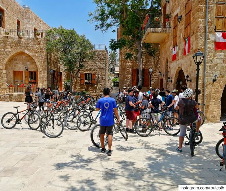 "A dream that will become true ""Batroun The First Cycling City In The... (Batroun Old Souk)"