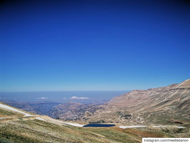 Lebanon's nature is a real beauty 💙🇱🇧💙 Can't have enough of it 🏔🇱🇧🏔 (3youn Orghosh)