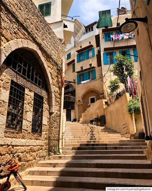 The stairs leading to the citadel of Saint Gilles.We were honored to be... (Tripoli, Lebanon)