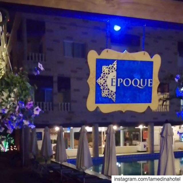 Join us at our new outdoor Resto Pub @epoquelb RSVP 03-370255 🍹🔥... (Joünié)
