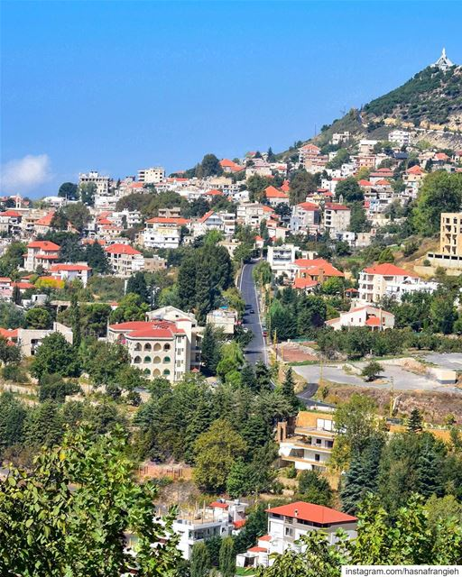 Colors of July in  Ehden 💚________________________________________... (Ehden, Lebanon)