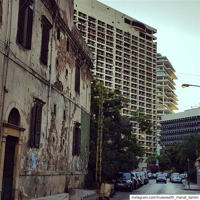 If you had the chance to pass by the past.. Would you ignore it,,Or would... (Beirut, Lebanon)